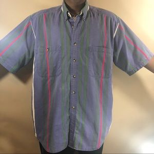 vintage Basic options button up size:Large tall
